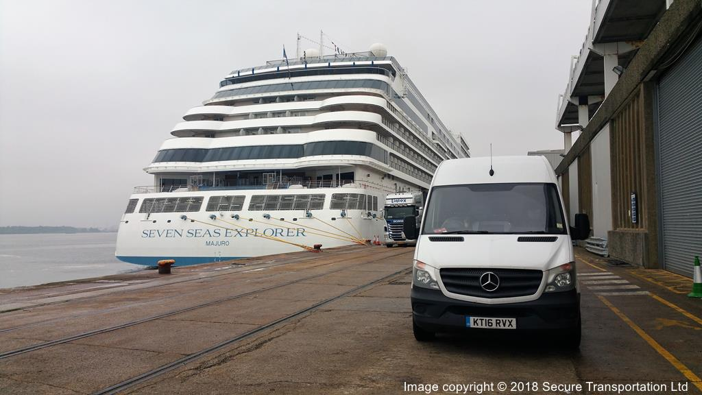 Regent Seven Seas Explorer at Southampton