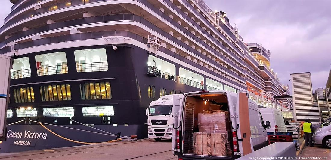 Secure Transportation for Cruise Ships in Southampton