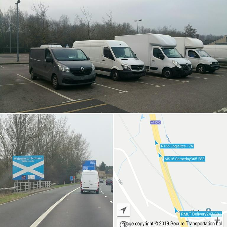 Secure Transportation to Edinburgh Scotland 02/2019