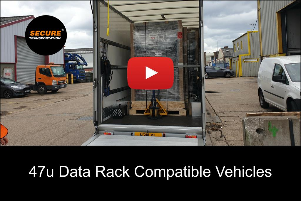 Short video showing Secure Transportation's capability of carrying 47u computer racks