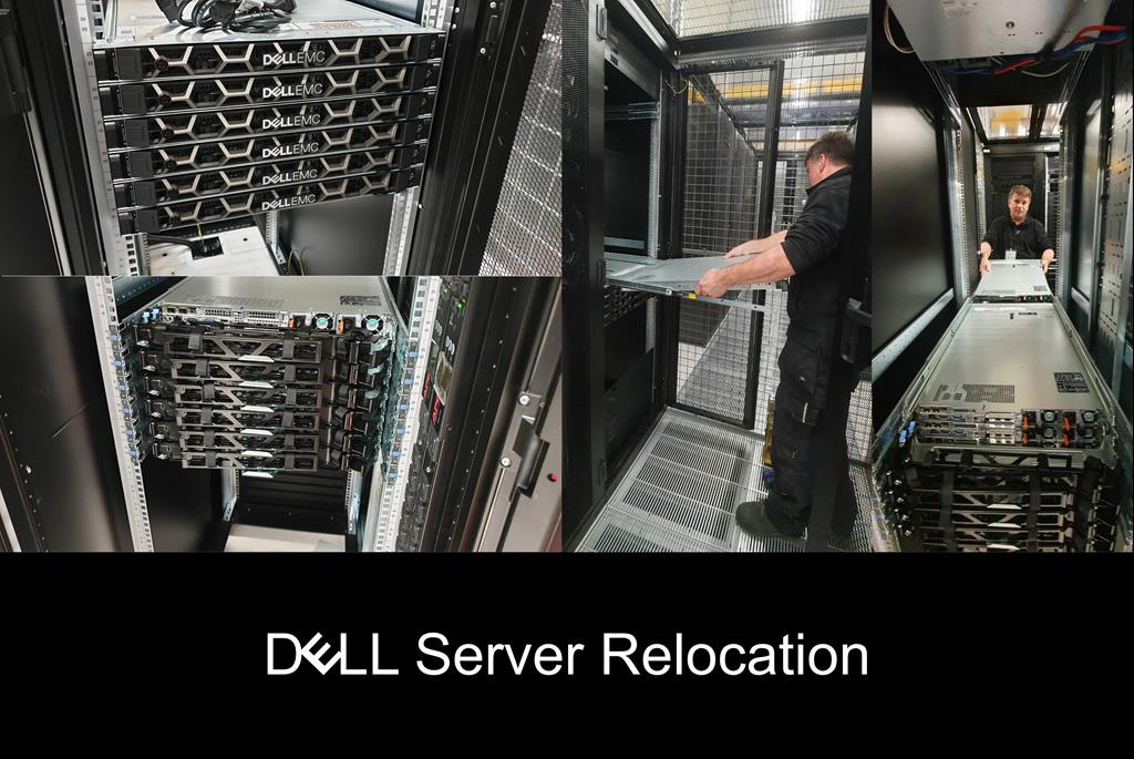 Dell server relocation and installation by Secure Transportation Ltd